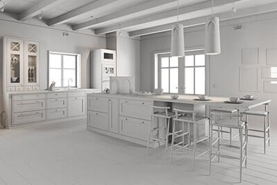 Classic kitchen 2 clay